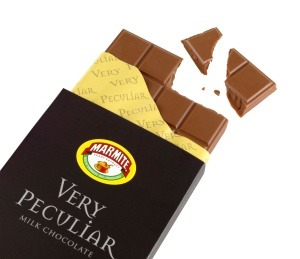 Very Peculiar Marmite chocolate