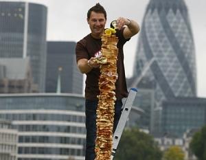 Largest Marmite sandwich
